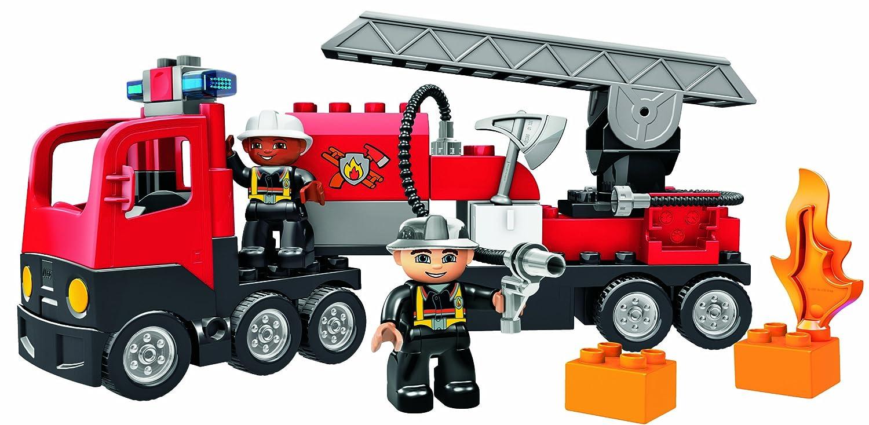 Amazoncom Duplo Lego Ville Fire Truck 4977 Toys Games