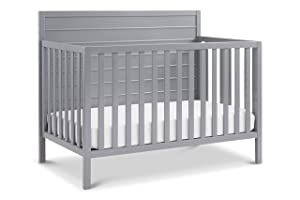 Carter's by DaVinci Morgan 4-in-1 Convertible Crib in Grey, Greenguard Gold Certified