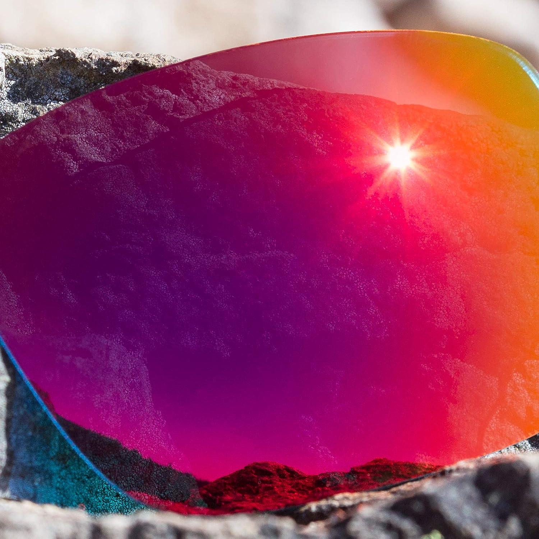 Revant Verres de Rechange pour Revo Grand Sixties 840 - Compatibles avec les Lunettes de Soleil Revo Grand Sixties 840 Soleil de Minuit Mirrorshield - Non Polarisés