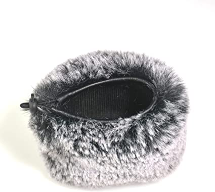 H6 H5 Neewer Outdoor Microphone Furry Windscreen Muff for Zoom H4n Sony PCM-D50 Tascam DR-100 MKII and Similar Portable Digital Recorders