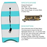 "42"" Bodyboard - Premium High Performance Body Board - Durable, Lightweight Body Board with EPS Core, Smooth Top Deck and Slick HDPE Bottom Deck"