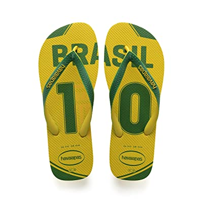 Amazon.com | Havaianas Unisex Teams III - Brazil Sandal | Sandals