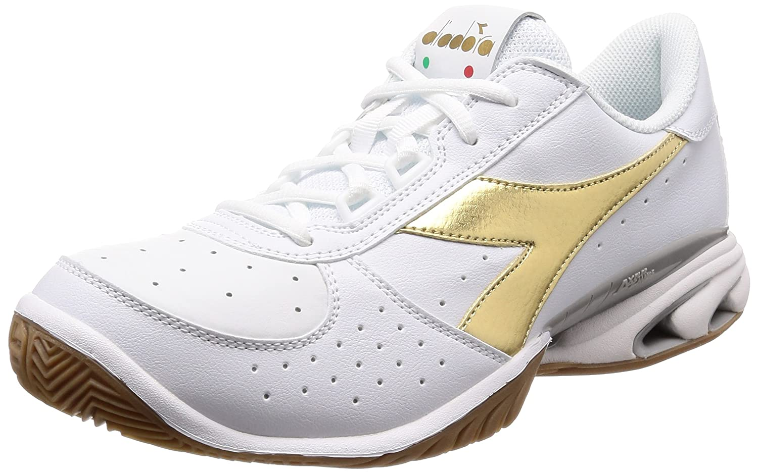 available unequal in performance pretty cheap Amazon.com   Diadora Speed Star K Elite AG Men's Wh/Gd 8.0 ...