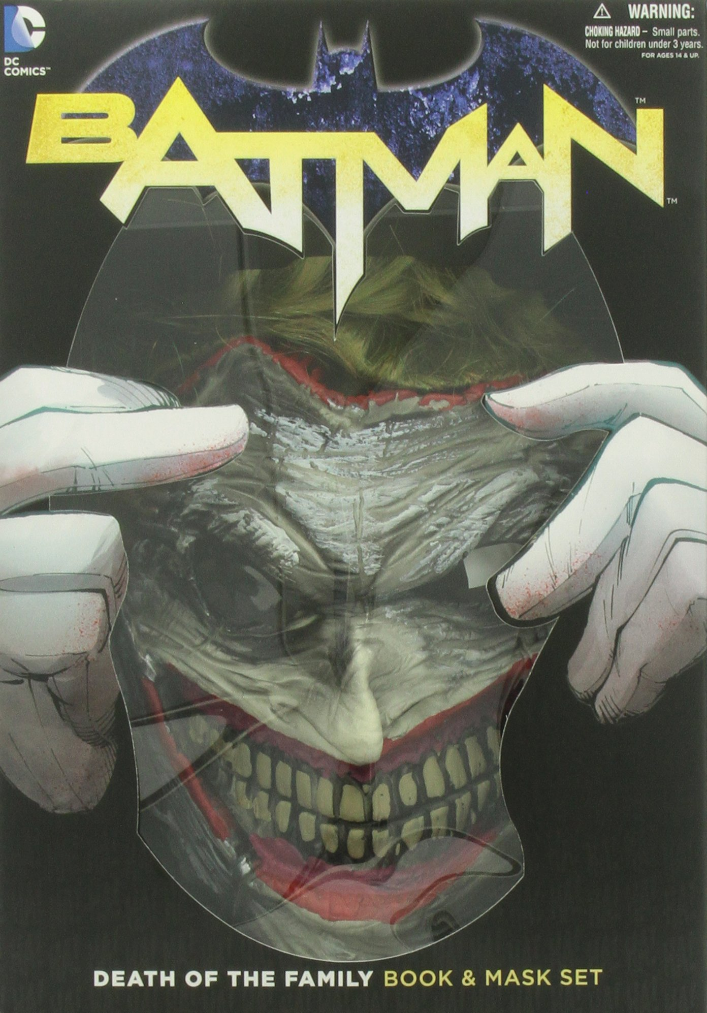 Batman: Death of the Family Mask and Book Set: Amazon.es: Scott Snyder, Greg Capullo: Libros en idiomas extranjeros