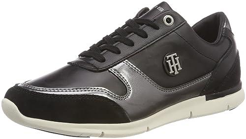 Tommy Hilfiger Camo Metallic Light Sneaker, Sneakers Basses Femme