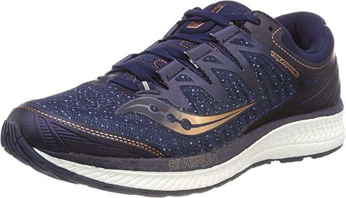 Saucony Triumph ISO 4 Mens Running Shoes Blue