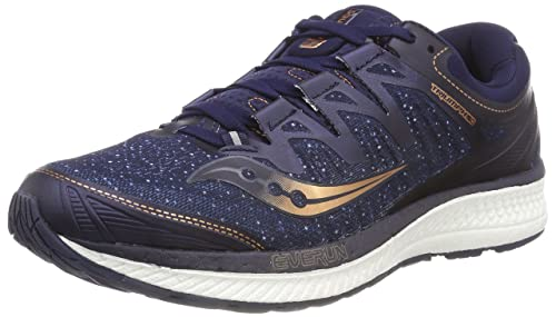 0d2366726f Saucony Men's Triumph ISO 4 Competition Running Shoes, Blue  (Navy/Denim/Copper