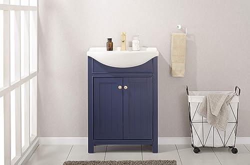 Design Element Marian 24″ Single Sink Bathroom Vanity