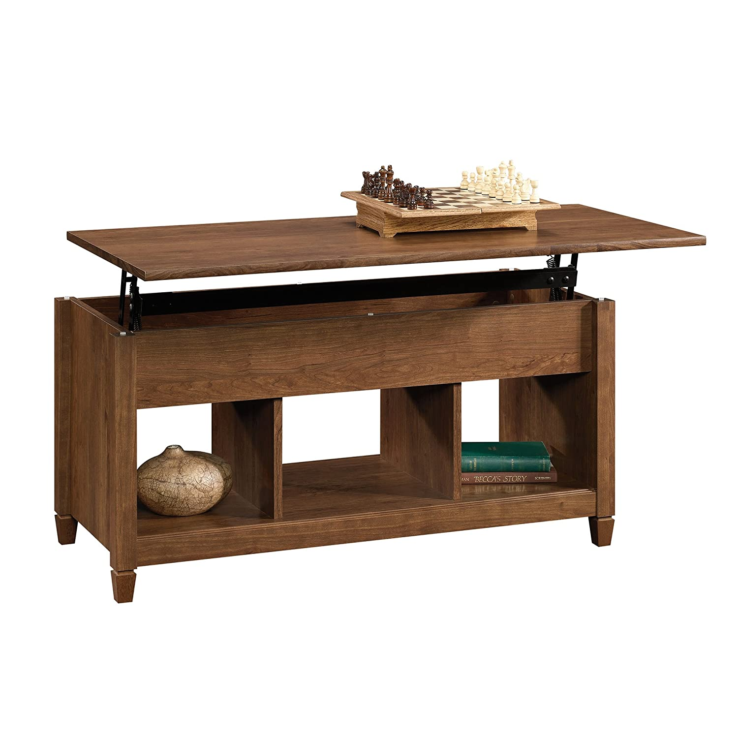 Sauder 419399, Furniture Coffee Table, Auburn Cherry Sauder Woodworking