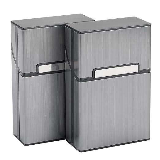 Gizeh Zigarettenbox  5 x aus Kunststoff für ca.20 Zigaretten