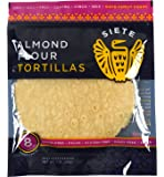 Siete Almond Flour Tortillas, Paleo Approved, 8 count (2 Pack)