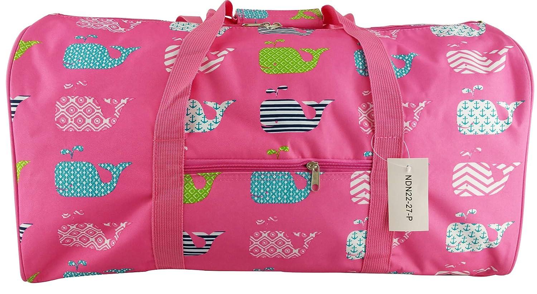 8f6d094d6db7 Gym Dance Cheer Travel Carry On Foldable Hand Duffle Bag 22 inch Fashion  Multi Pocket Sports Lightweight Flight Printed Luggage Bag Lady Girls ...
