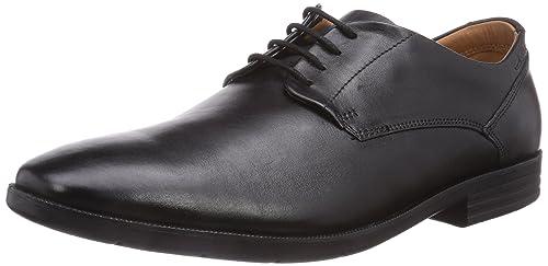 Clarks Glenrise Walk, Men's Derby, Black (black Leather), 7.5 UK (