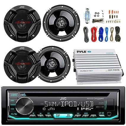 amazon com jvc kdr690s car cd player receiver usb aux radio rh amazon com