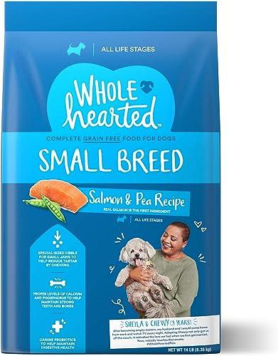 WholeHearted Grain Free Small Breed Salmon and Pea Recipe Dry Dog Food