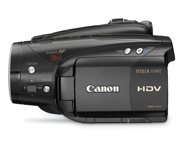 amazon com canon vixia hv40 high definition camcorder camera photo rh amazon com Canon VIXIA HF R40 Canon VIXIA HF M30
