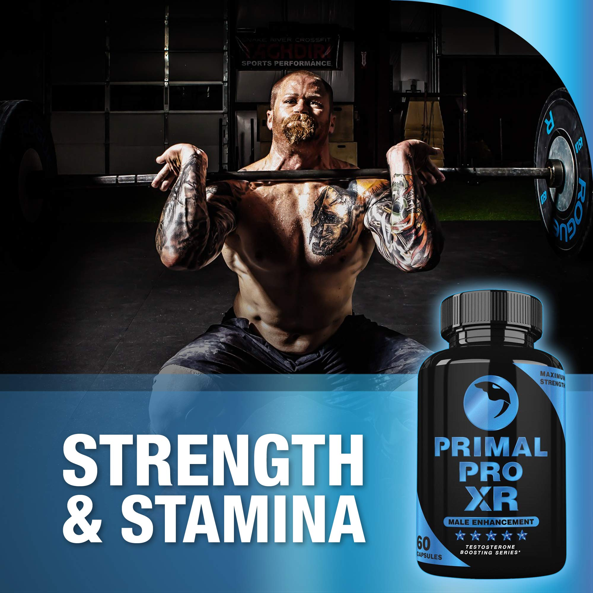 Primal Pro XR - Male Enhancement - Extra Strength Testosterone Booster - Naturally Boost Your Libido, Stamina, Endurance, Strength & Energy for Men & Women - Burn Fat & Build Lean Muscle Mass Today by Primal Pro XR (Image #6)