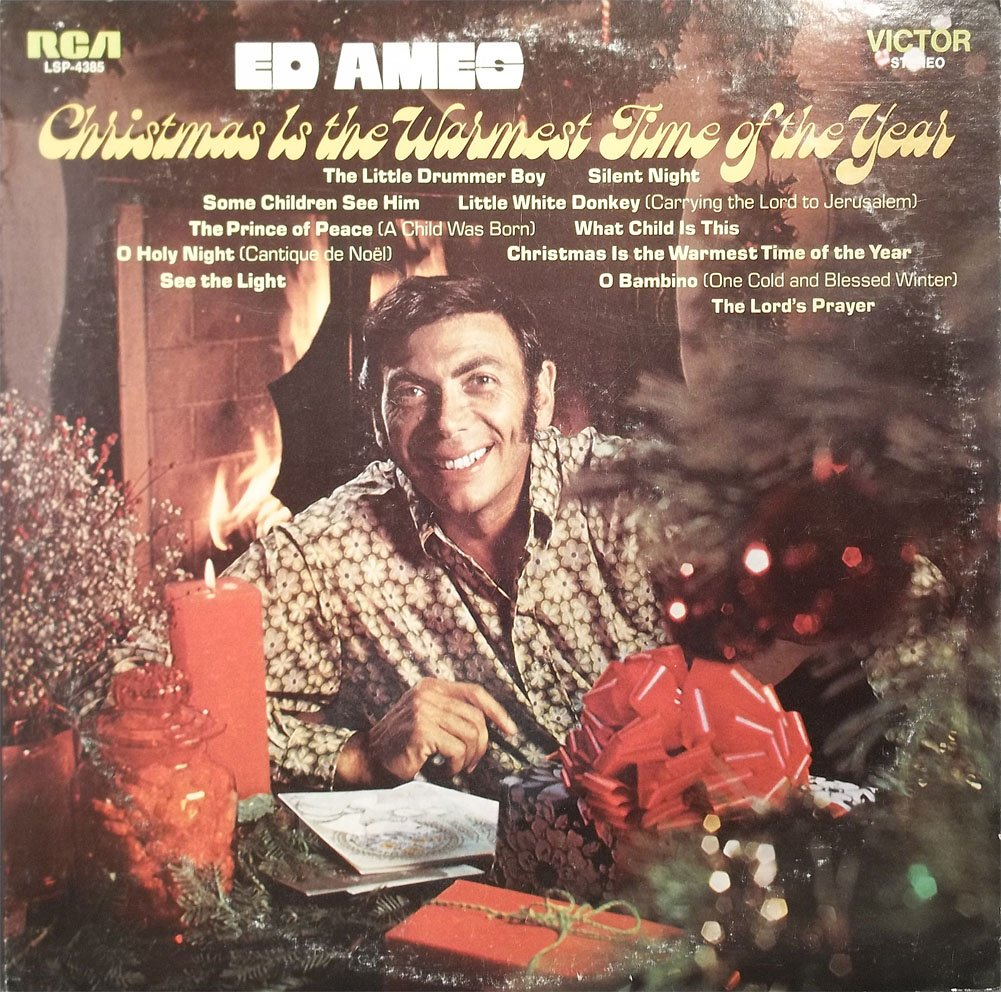 1970 Christmas Is The Warmest Time Of The Year Vinyl LP Record by RCA Victor