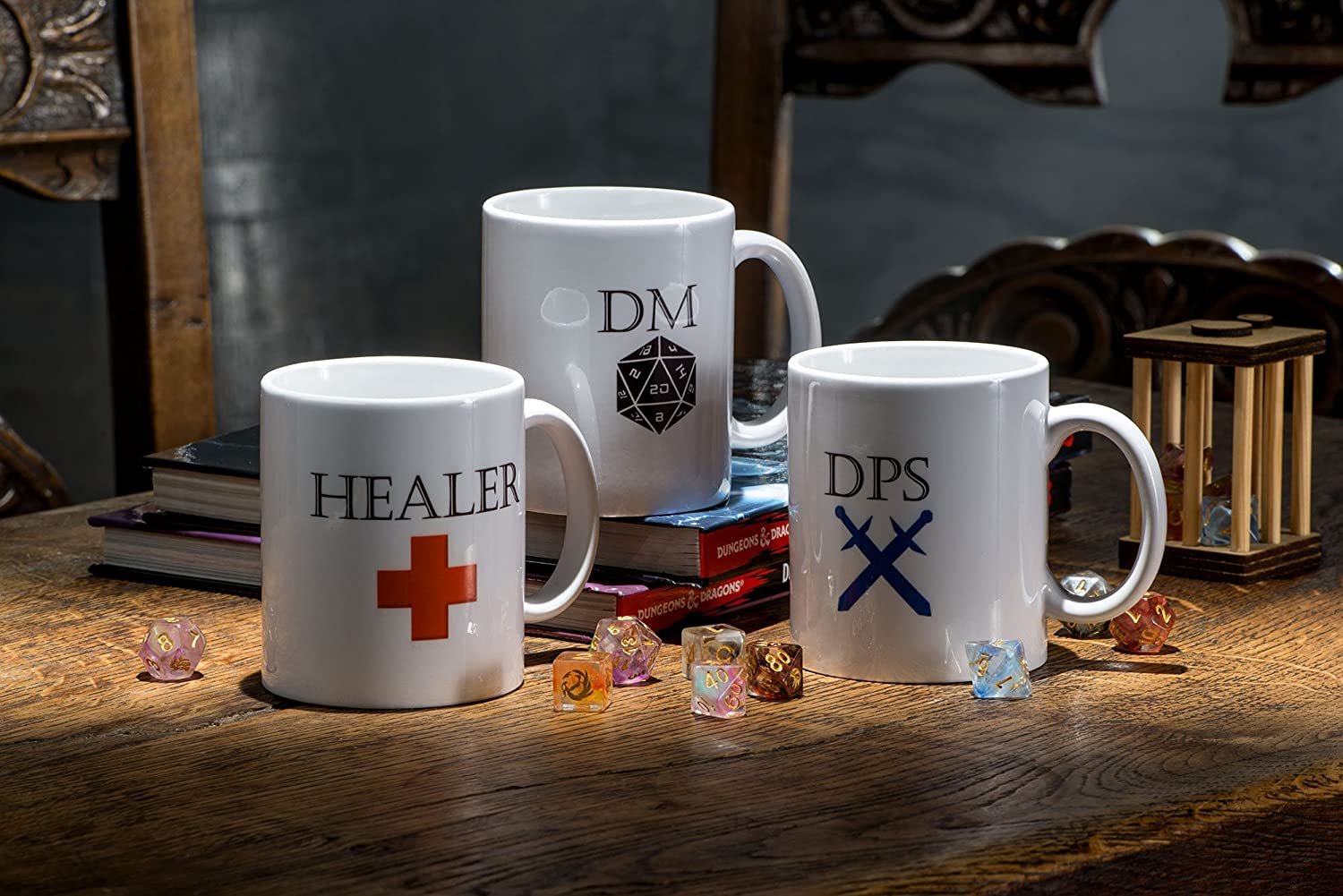 RPG Coffee Mug, Pathfinder Mug, Dungeons and Dragons Mug, Fantasy Mug, Geek Gift, DnD Present, Geek Mug, Gaming Mug, Geek Gamers Mug, Gift