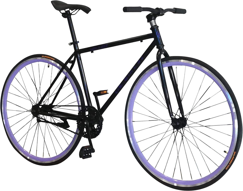 Helliot Bikes Fixie Nolita 50 Bicicleta Urbana, Hombre, Negro ...