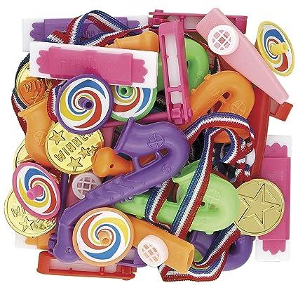 COOLMP - Juego de 12 - 36 pequeños Juguetes para piñata ...