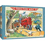 MasterPieces The Right Fit Kids Tractor Mac Jigsaw Puzzle, Out For A Ride, Tillywig Top Fun Award, 60 Piece, For Age 5+