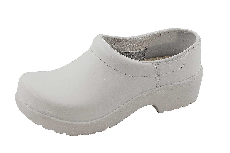 Euro-Dan Hygiene-Clogs mit PU-Sohle Geschlossen, Geschlossen, Geschlossen, Weiß O2+SRC - 1013b9