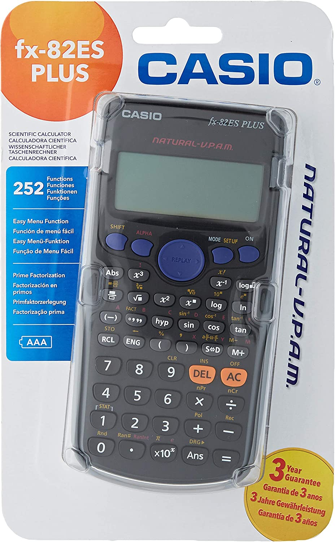 Casio FX 82 ES Plus 2nd Garant/ía Extendida Funda Protectora