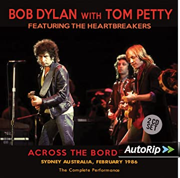 Across The Borderline (2CD) by Bob Dylan, Tom Petty, Bob Dylan ...