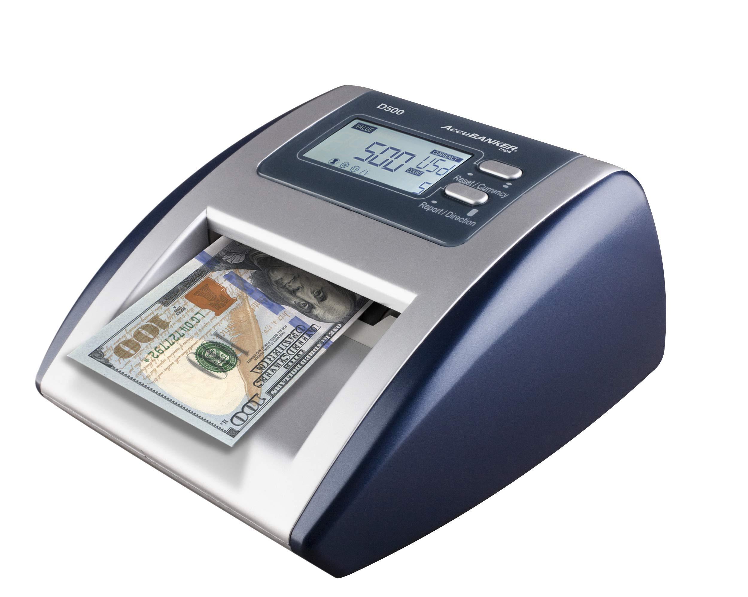 AccuBANKER D500 Automatic Counterfeit Detector