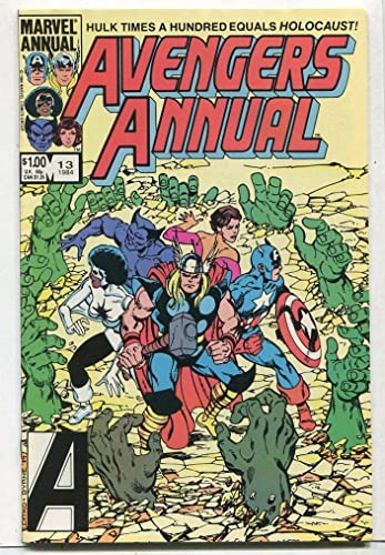 Amazon.com: Avengers ANNUAL #13 NM In Memory Yet Green Marvel ...