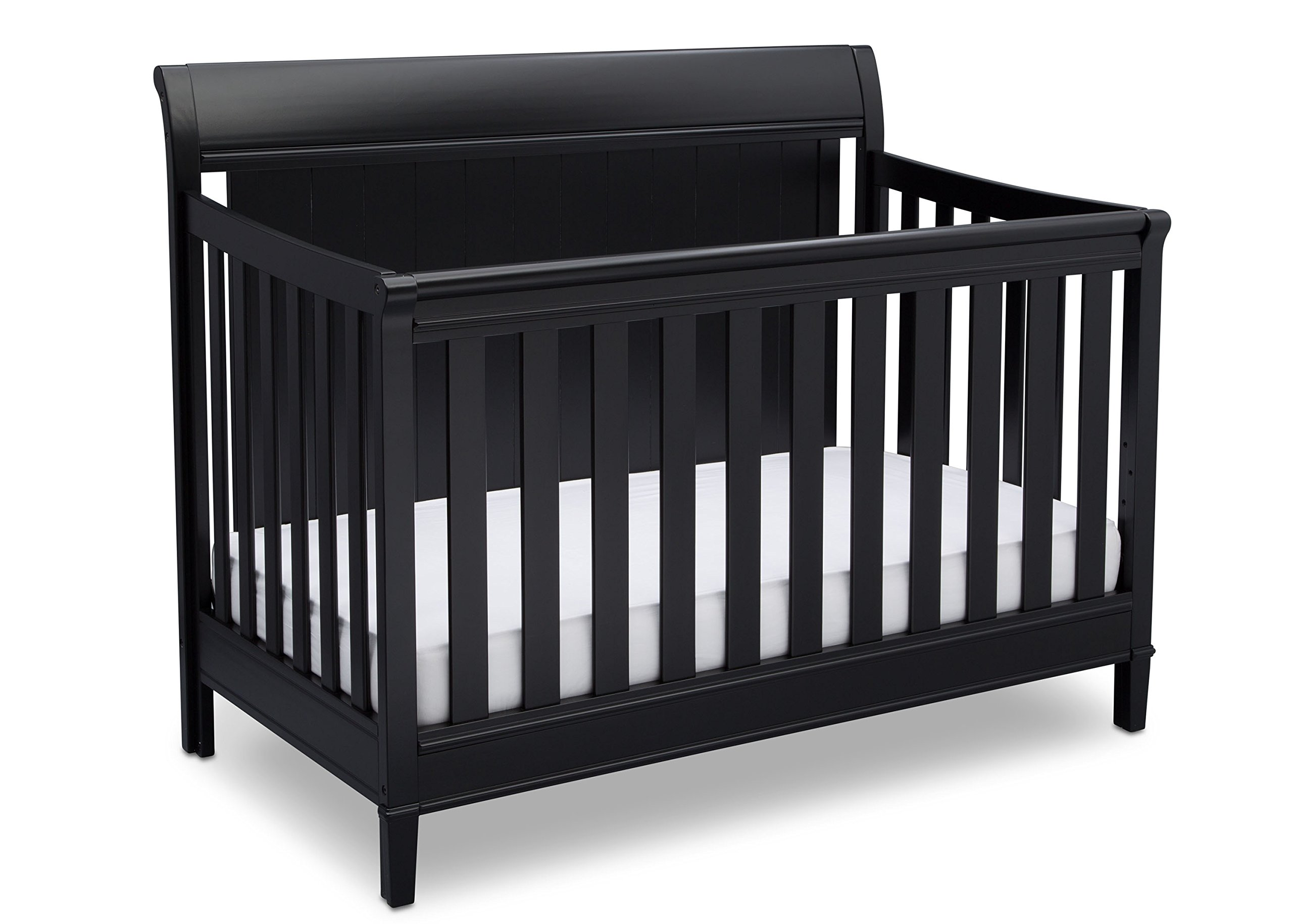 Delta Children New Haven 4-in-1 Convertible Baby Crib, Ebony by Delta Children