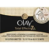Olay Total Effects Lathering Cleansing Cloths 30 Count