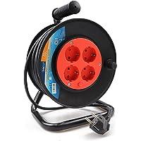ExtraStar Cable de alimentación de bobina enrollable