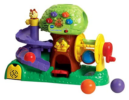 Amazon.com: VTech Count y rollo Árbol Juguete: Toys & Games