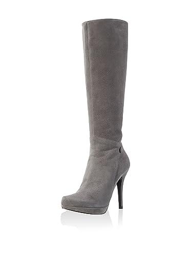 buy popular 2ff49 a9fa0 Buffalo London Damen Stiefel, Grau, 38 EU: Amazon.de: Schuhe ...