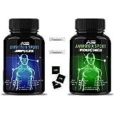 AmmoniaSport Athletic Smelling Salts - Ampules (20) - Ammonia Inhalant - [Smelling Salt / Ammonia Inhalants]