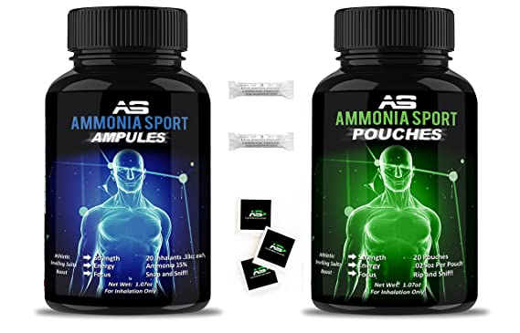 Product thumbnail for AmmoniaSport Athletic Smelling Salts