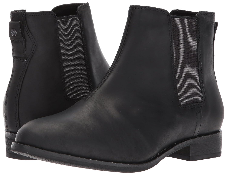 Caterpillar Women's Matilda Leather Chelsea Ankle Boot B01MSYTBT3 10 B(M) US|Black