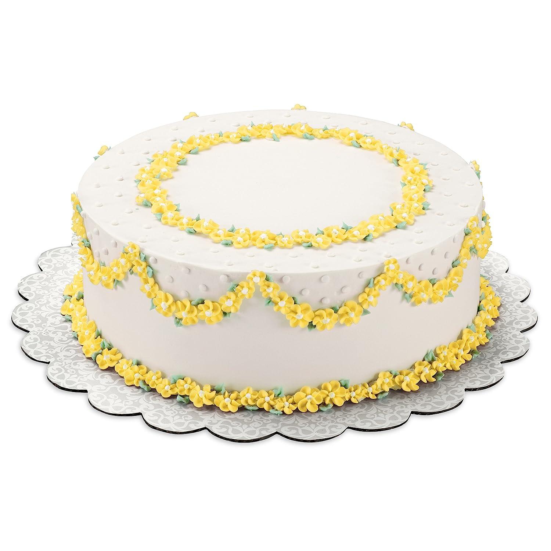 Amazon.com: Wilton Show-N-Serve 12-Inch Lace Doily Cake Circles, 8 ...