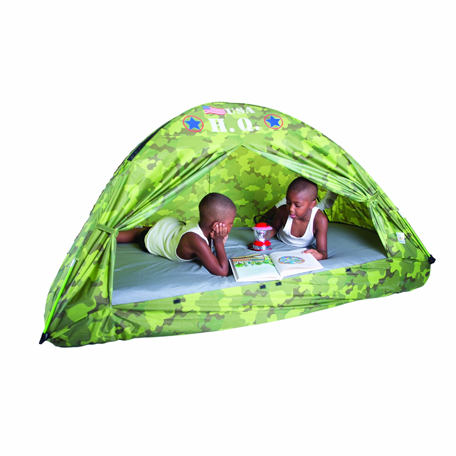 Amazon.com Pacific Play Tents HQ Twin Bed Tent Camouflage Toys u0026 Games  sc 1 st  Amazon.com & Amazon.com: Pacific Play Tents HQ Twin Bed Tent Camouflage: Toys ...