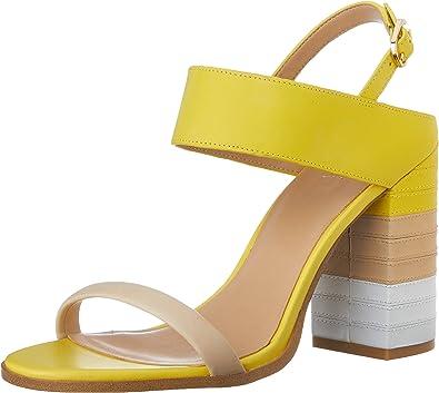 Buy \u003e light yellow block heels - OFF 63