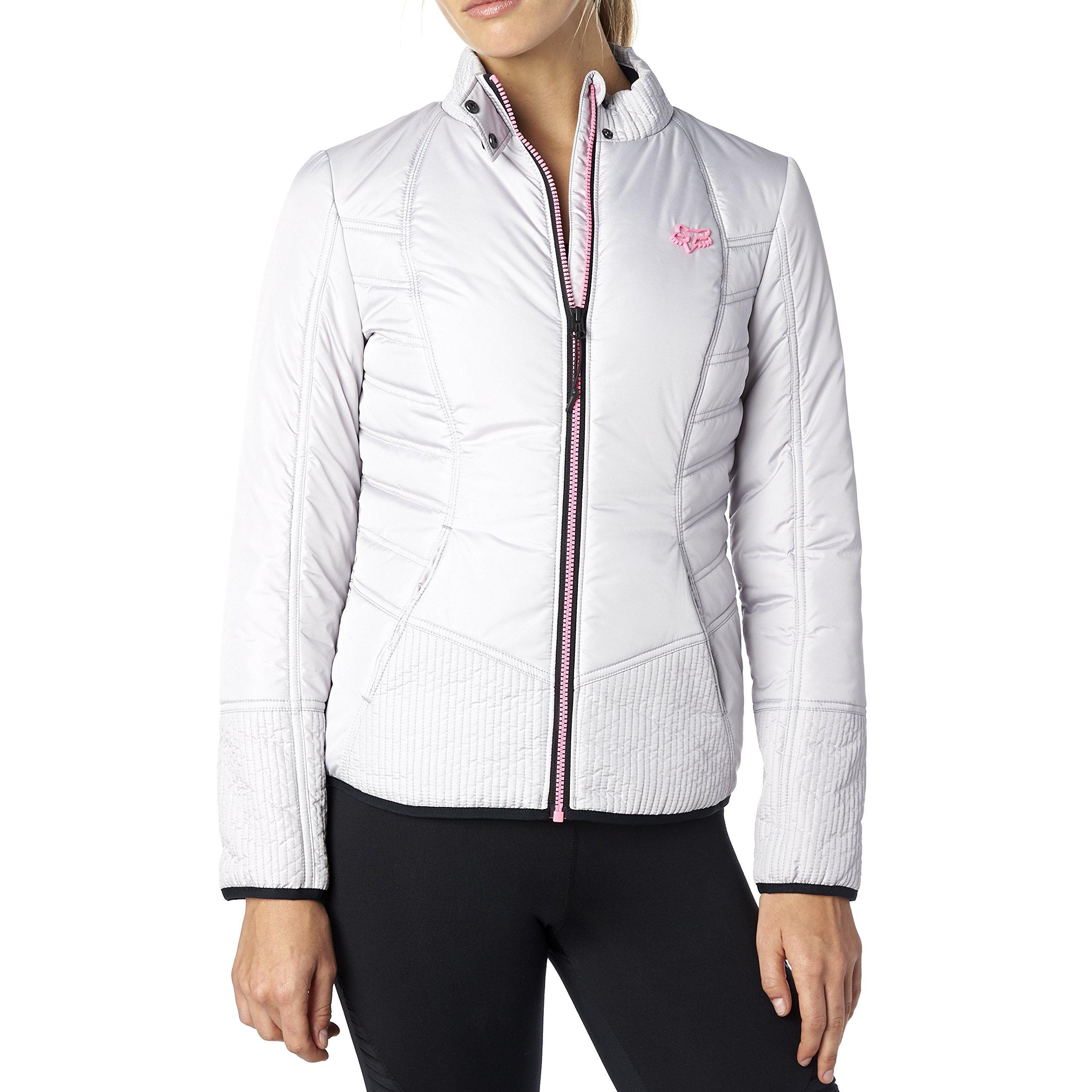Fox Juniors Sonar Slimming Quilted Jacket, Stone, Medium