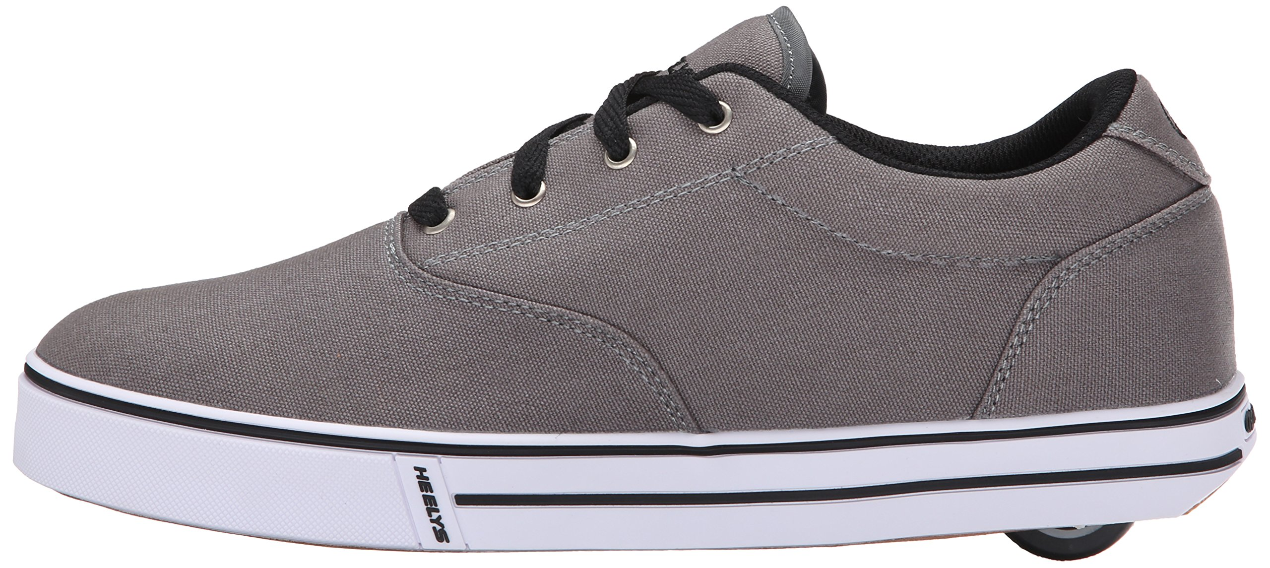 Heelys Men's Launch Fashion Sneaker Grey 10 M US by Heelys (Image #5)