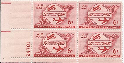 Image Unavailable Not Available For Color 1953 Air Mail Postage Stamp 6 Cent