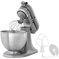 KitchenAid KSM75SL Classic Plus 4.5 Qt. Tilt Head Stand Mixer (Silver)