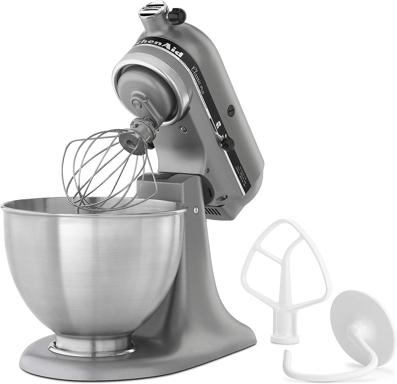 KitchenAid KSM75SL Classic Plus 4.5-Qt. Tilt-Head Stand Mixer