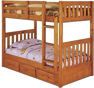 American Furniture Classics Bunk Bed, Twin/Twin