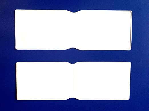 100 x de plástico blanco tarjeta Oyster Tipo Cartera/Cartera ...