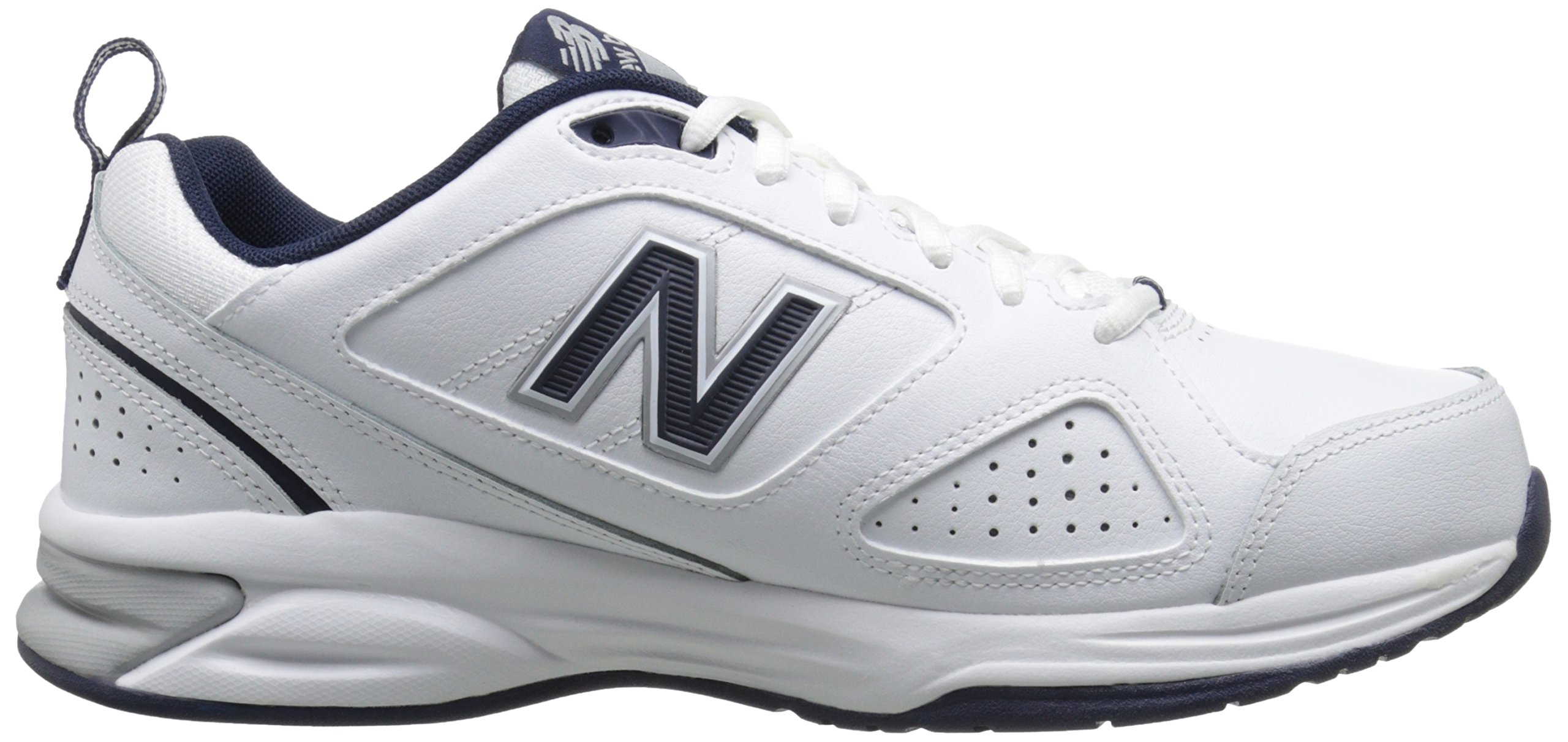 New Balance Men's MX623v3 Casual Comfort Training Shoe,  White/Navy, 8 M US by New Balance (Image #7)